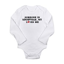 Cute Louisville Long Sleeve Infant Bodysuit