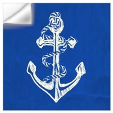 Vintage Anchor Wall Decal