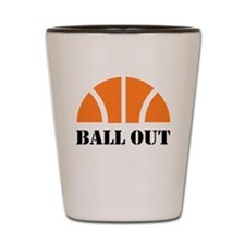 Ball Out Shot Glass