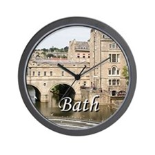 Pulteney Bridge, Avon River,Bath, Engla Wall Clock