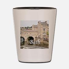 Pulteney Bridge, Avon River,Bath, Engla Shot Glass