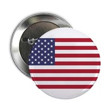 """AMERICAN FLAG 2.25"""" Button (10 pack)"""