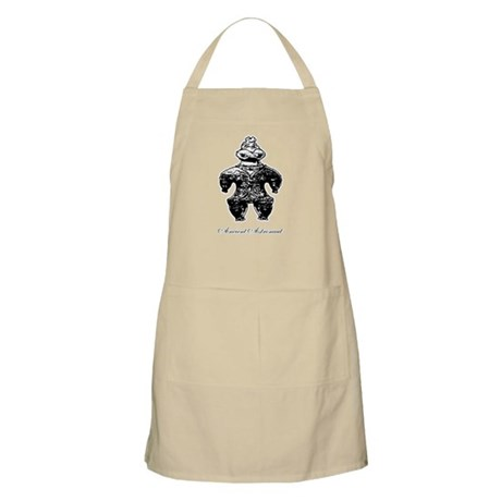 Ancient Astronaut Dogu BBQ Apron