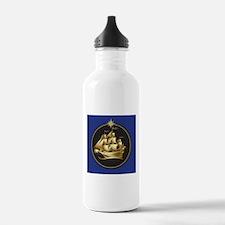 Golden Ship Water Bottle