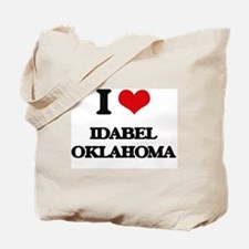 I love Idabel Oklahoma Tote Bag