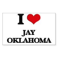 I love Jay Oklahoma Decal