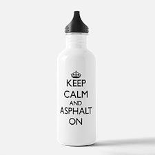 Keep Calm and Asphalt Water Bottle