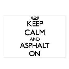 Keep Calm and Asphalt ON Postcards (Package of 8)