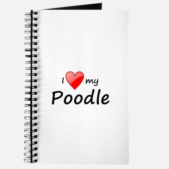 love poodle Journal