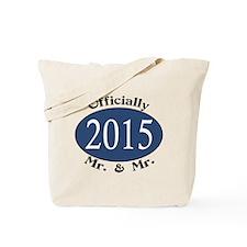 Mr. & Mr. 2015 Blue/Blk Tote Bag