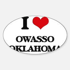 I love Owasso Oklahoma Decal