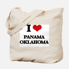 I love Panama Oklahoma Tote Bag