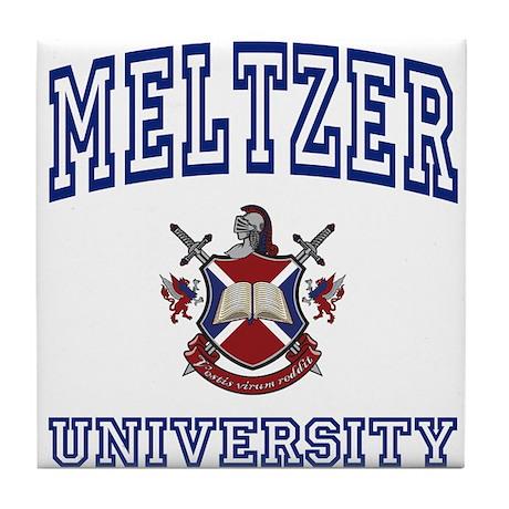 MELTZER University Tile Coaster