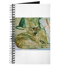 Burmese cat on cushions Journal