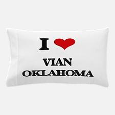 I love Vian Oklahoma Pillow Case