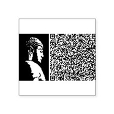 "Cute Buddhism Square Sticker 3"" x 3"""