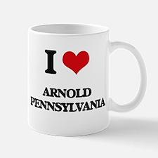I love Arnold Pennsylvania Mugs