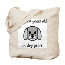 82 dog years 2 Tote Bag