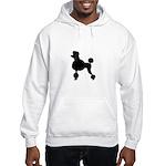 French Poodle Hooded Sweatshirt
