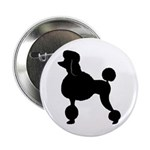 French Poodle Button