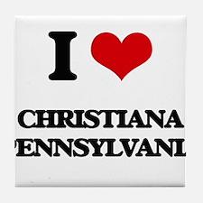 I love Christiana Pennsylvania Tile Coaster