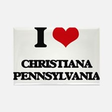 I love Christiana Pennsylvania Magnets