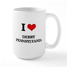 I love Derry Pennsylvania Mugs