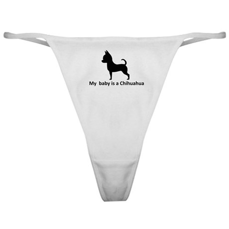 My Chihuahua Classic Thong