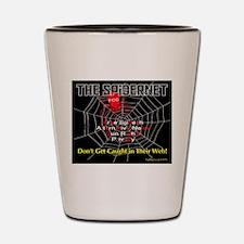 The Spidernet Shot Glass