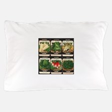Vegetable Packets Six Pillow Case