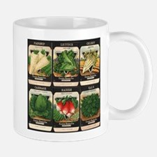 Vegetable Packets Six Mug