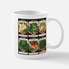 Vegetable Packets Six Small Small Mug