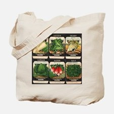 Vegetable Packets Six Tote Bag