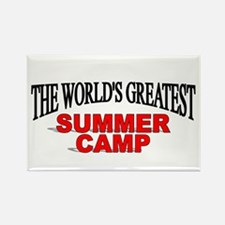 """""""The World's Greatest Summer Camp"""" Rectangle Magne"""