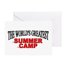 """""""The World's Greatest Summer Camp"""" Greeting Card"""