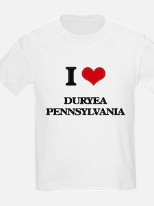 I love Duryea Pennsylvania T-Shirt