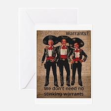 Warrantless Greeting Card