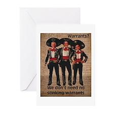 Warrantless Greeting Cards (Pk of 20)