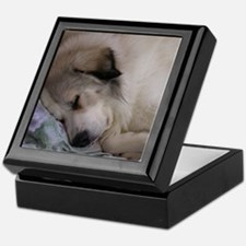 great pyrenees Keepsake Box
