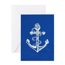 Vintage Anchor Greeting Cards