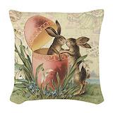 Easter Woven Pillows