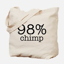98% Chimp Tote Bag