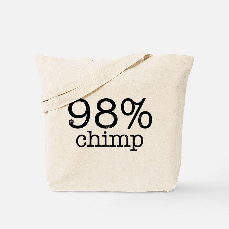 98% Chimp Tote Bag