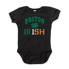Cute Boston shamrock Baby Bodysuit