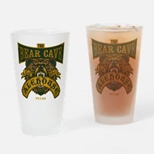 The Bear Cave Alehouse Drinking Glass