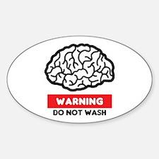 Brainwashed Sticker (Oval)