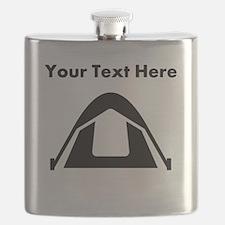 Custom Camping Tent Flask