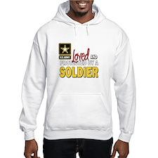 Funny Army girlfriend Hoodie