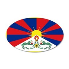 Tibet flag Wall Sticker