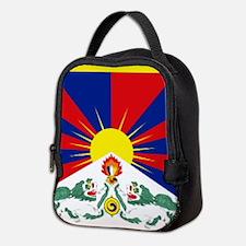 Tibet flag Neoprene Lunch Bag